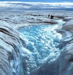 GREENLAND ICE MELTING