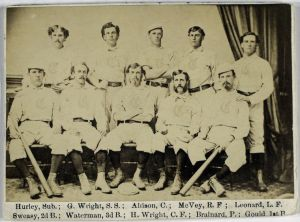 1869 CINCINNAT RED STOCKINGS