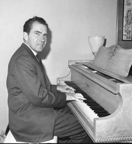 NIXON AT THE KEYBOARD
