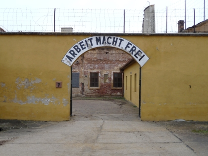 "The Nazis' cynical message at the Terezin concentration camp: ""Work will make you free"""