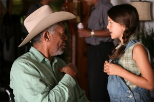 MORGAN FREEMAN and EMMA FUHRMANN