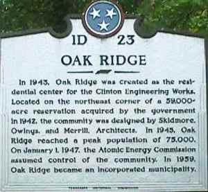 Oak Ridge 1