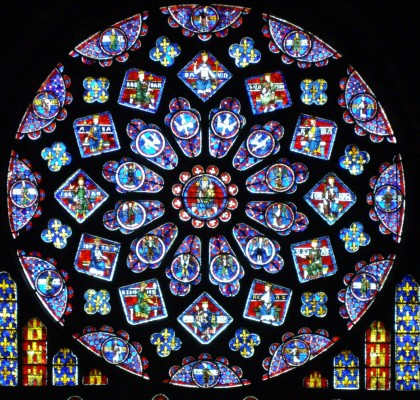 Chartre rose window