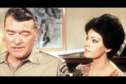 JACK HAWKINS and SOPHIA LOREN
