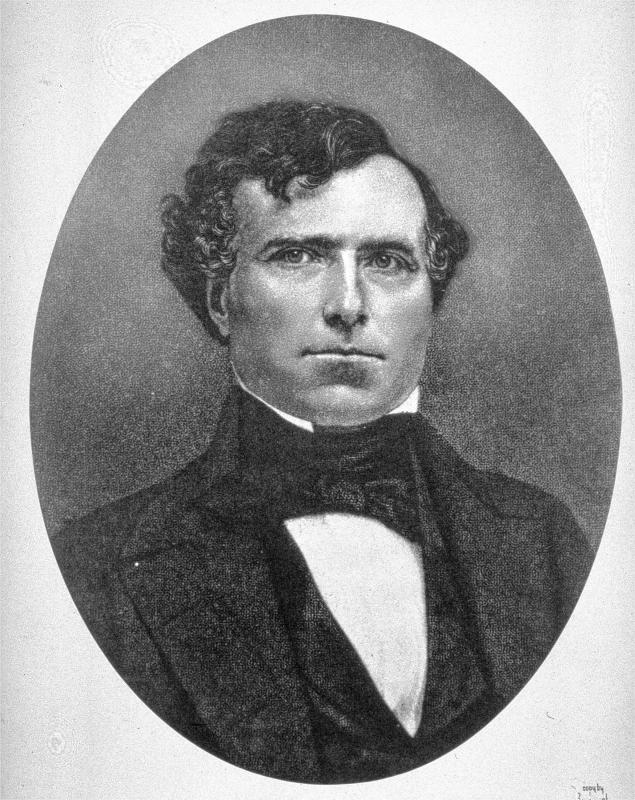 franklin pierce Find out more about the history of franklin pierce, including videos, interesting  articles, pictures, historical features and more get all the facts on historycom.