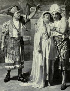 GIUSEPPE DE LUCA, FREIDA HEMPL, and ENRICO CARUSO in
