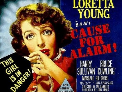 Loretta Young - poster