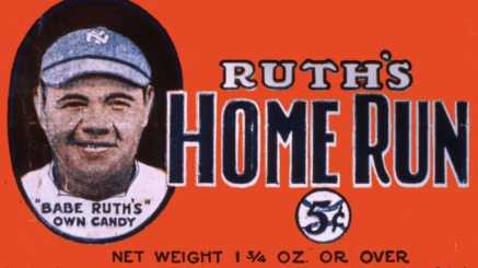 Baby Babe Ruth Candy