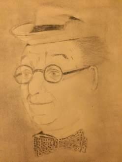 Ed Wynn 8 - drawing